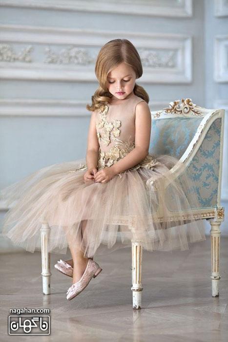 مدل لباس عروس دخترانه ویژه کودکان