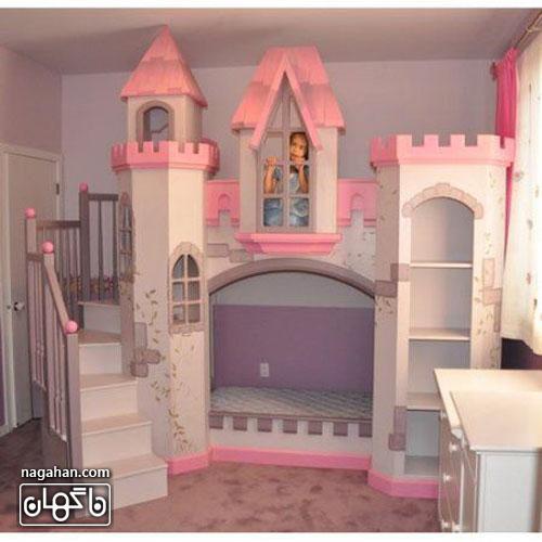 عکس اتاق کودک و مدل تخت عروسکی - اتاق دخترانه