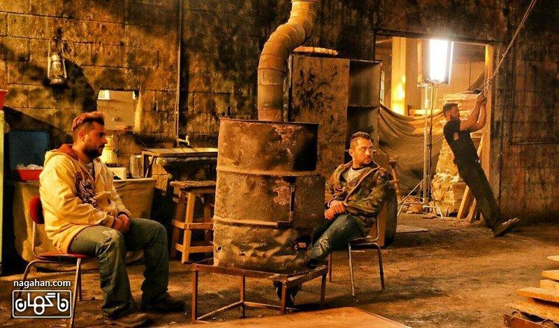 """عکس بهرام رادان درفيلم سينمايى """"باركد"""" به كارگردانى مصطفى كيايى"""