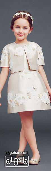 عکسکالکشن جدید لباس کودک | مدل پیراهن عروس دخترانه 95