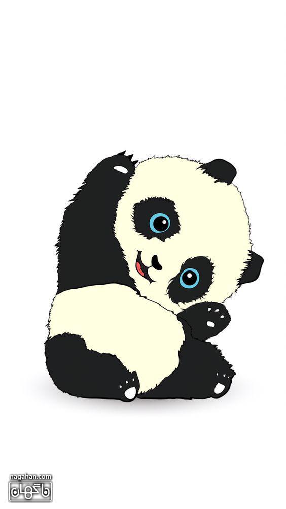 عکس پروفایل کارتونی پاندا بازیگوش