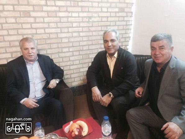 علی پروین و مهران مدیری