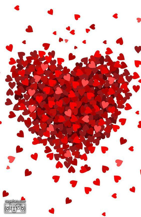 عکس های پروفایل پر از قلب برای ولنتاین