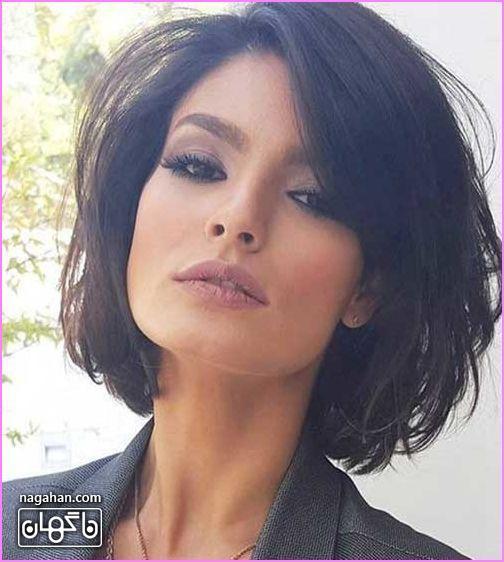 مدل مو کوتاه سیاه