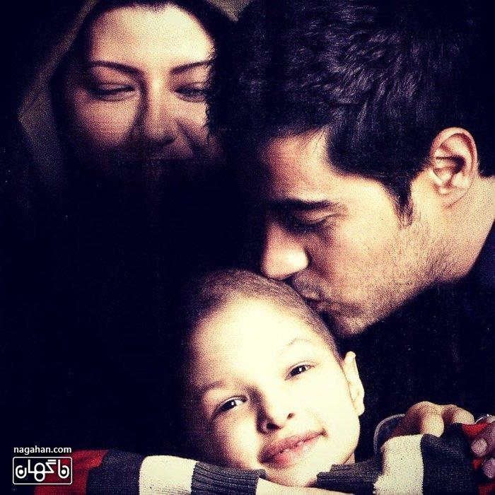 عکس خانوادگی شهاب حسینی