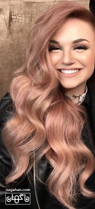 مدل کوتاهی مو 2017 | مدل رنگ مو ، مش ، هایلایت و لولایت 7
