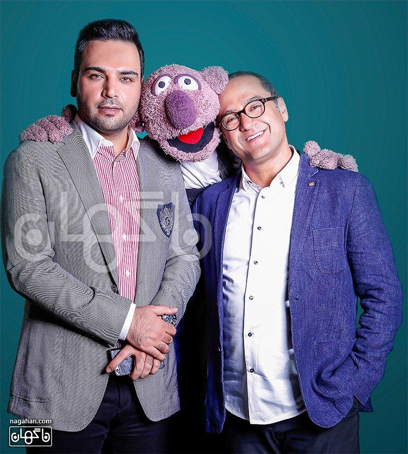 احسان علیخانی و جناب خان و رامبد جوان