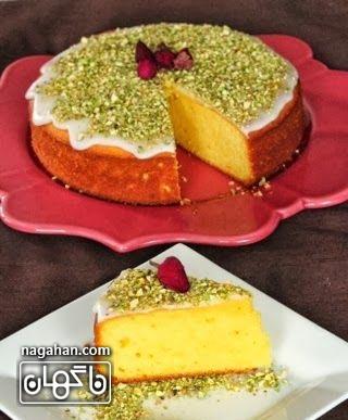 کیک زعفرانی زعفران خواص زعفران مرغوب