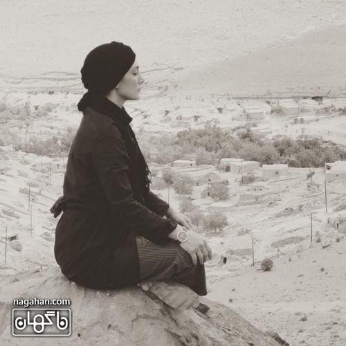 هدیه تهرانی یوگا