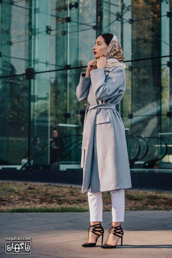 جدیدترین مدل مانتو بلند دانشجویی برای زمستان