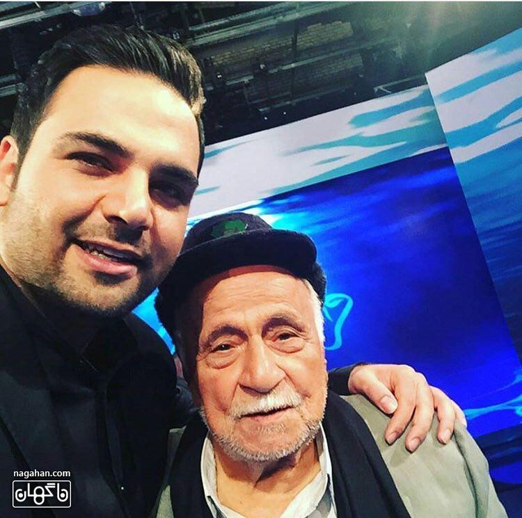 سالفی احسان علیخانی و حاج محمود