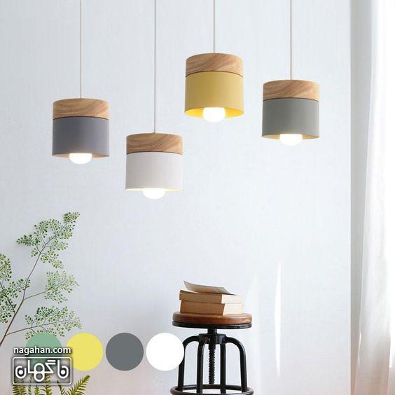 چراغ آویز مدرن و ساده برای آشپزخانه و اتاق پذیرایی