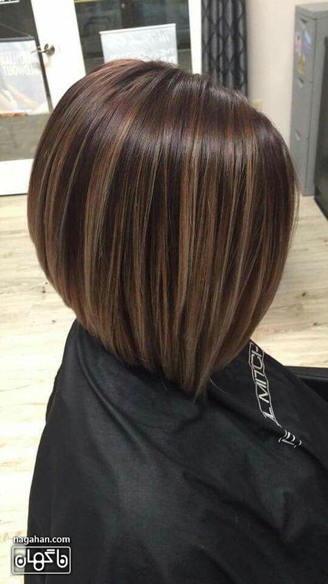 هایلایت مو کوتاه