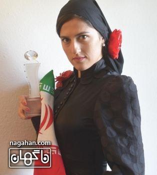 همسر ارشا اقدسی مهسا احمدی