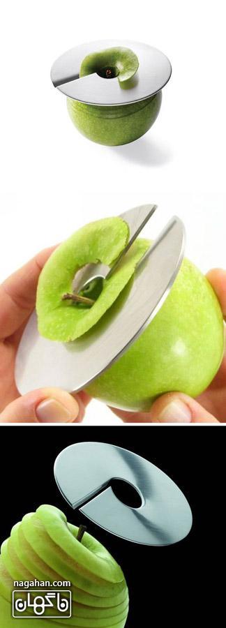 عکس قاچ کننده سیب