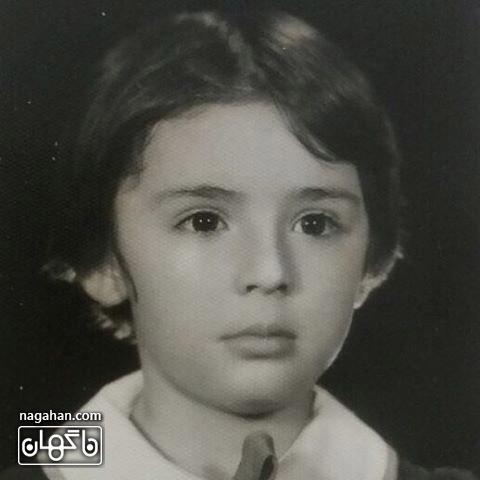 عکس قدیمی از دوران کودکی نیوشا ضیغمی