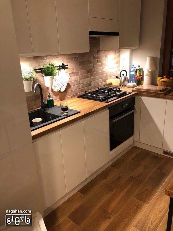 مدل کابیت و بین کابینتی جدید برای آشپزخانه کوچک