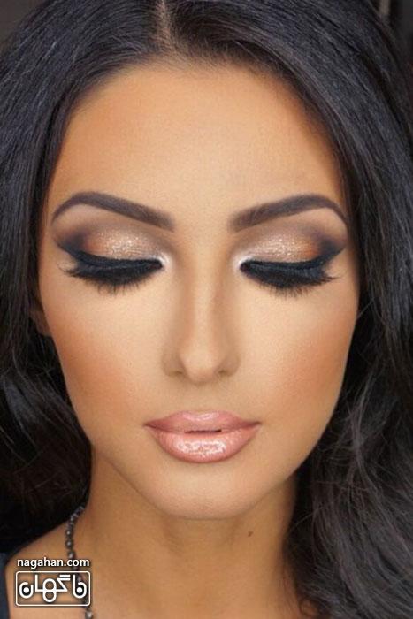 ایده های نو در آرایش صورت برای آرایشگران و بانوان |آرایش چشم و صورت عروس