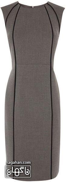 عکس لباس های مجلسی رنگ خاکستری
