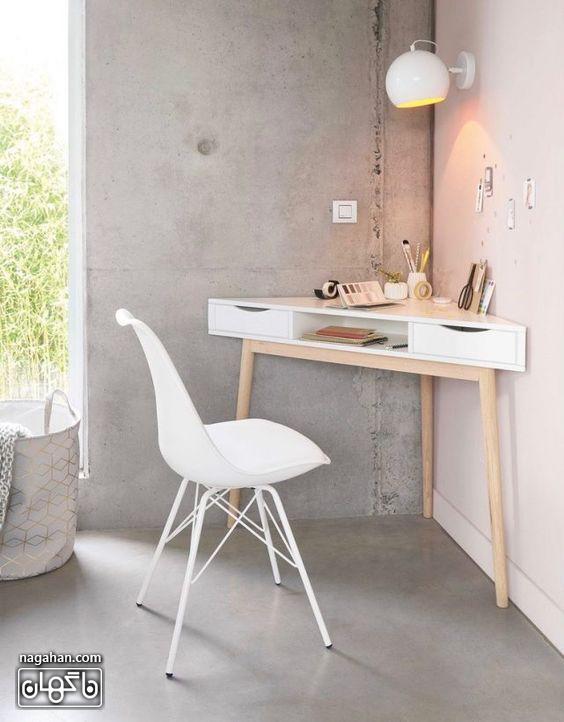 مدل میز تحریر مدرن و شیک در طراحی داخلی