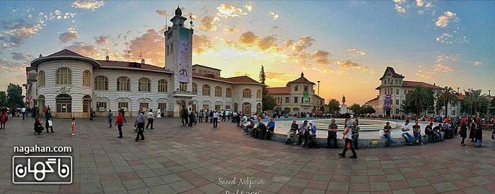 عکس رشت - شهرداری