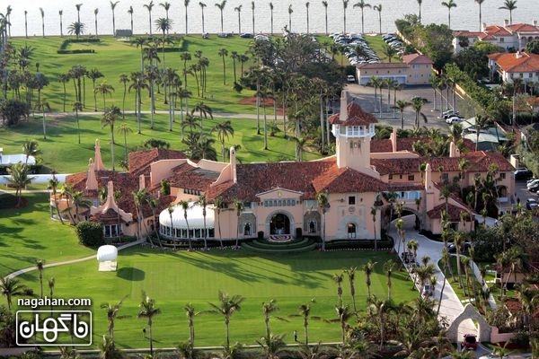 قصر 18 اتاق خوابه دونالد ترامپ
