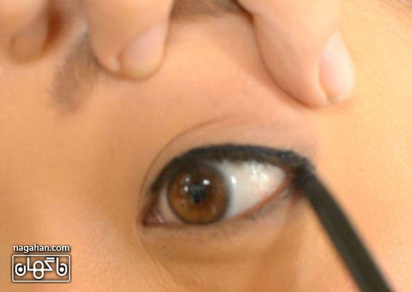 آموزش طرز صحیح کشیدن خط چشم