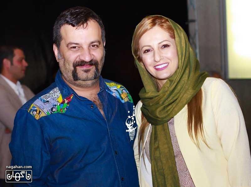 عکس شقایق دهقان و همسرش مهراب قاسم خانی - تیپ بازیگران - مدل مانتو بازیگران