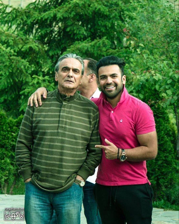 عکس جدید فرهاد نجفی کارگردان سریال آسپرین aspirin