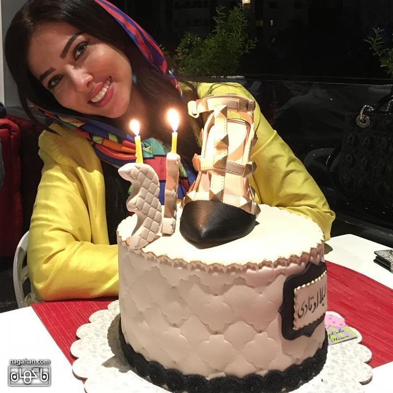 عکس جشن تولد لیلا اوتادی - عکس جدید لیلا اوتادی