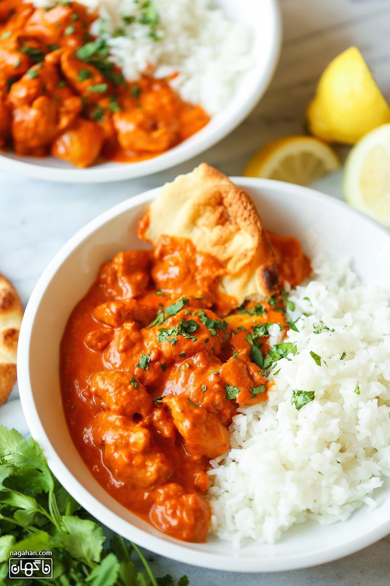 مرغ تیکا ماسالا هندی