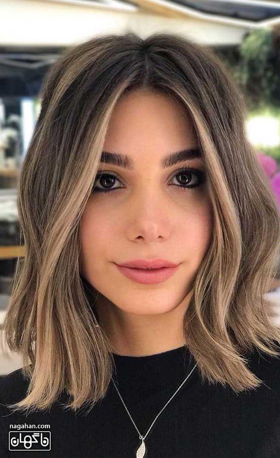 مدل مو کوتاه مش و هایلات خاص