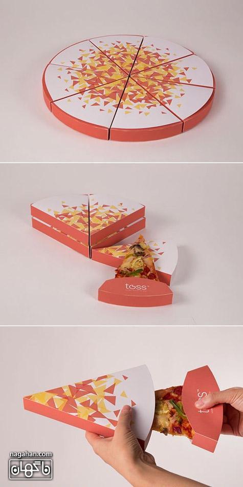 عکس جعبه پیتزا خلاقانه