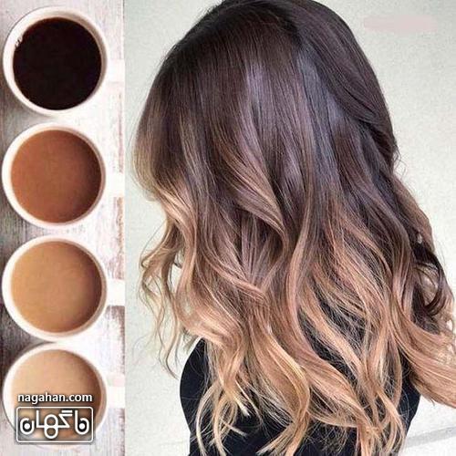 رنگ مو شکلاتی