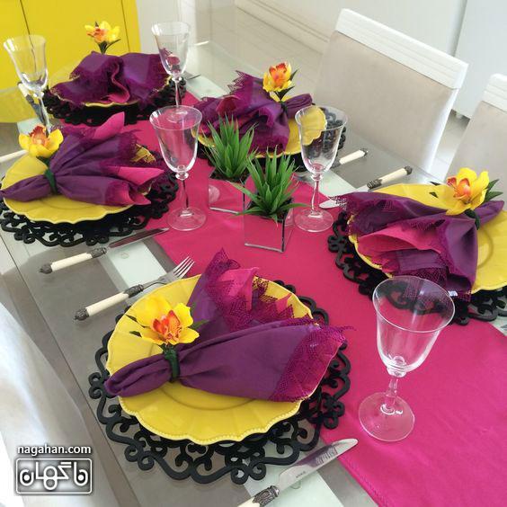 ایده های جدید در سفره آرایی و تزئین میز شام و اتاق پذیرایی 4