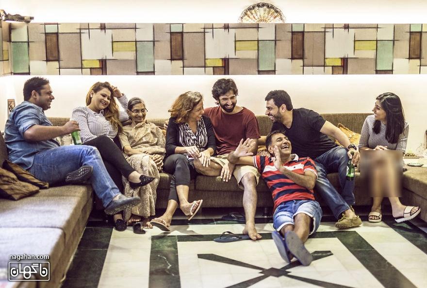 خانواده در سراسر جهان ؛ یک خانواده هندی