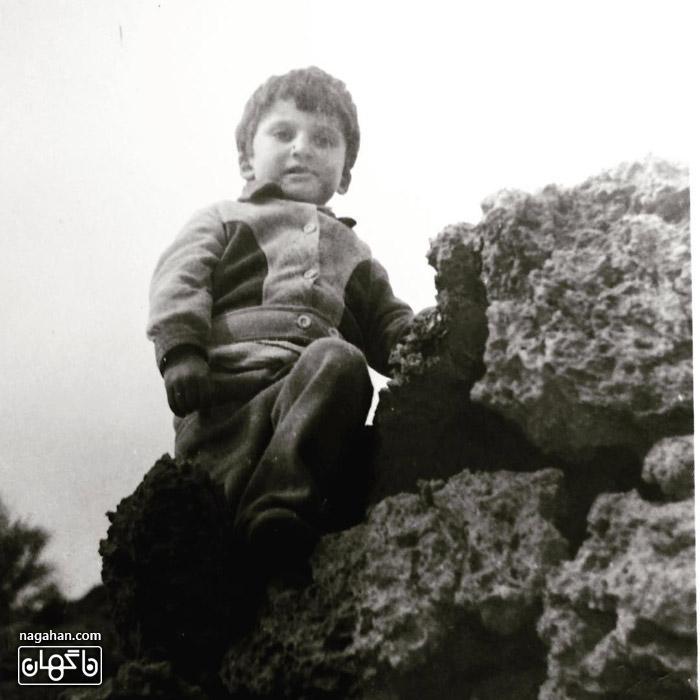 عکس سه سالگی مهدی سلطانی - 1353