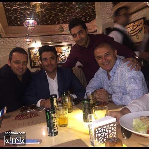 رستوران انار محمد رضا گلزار