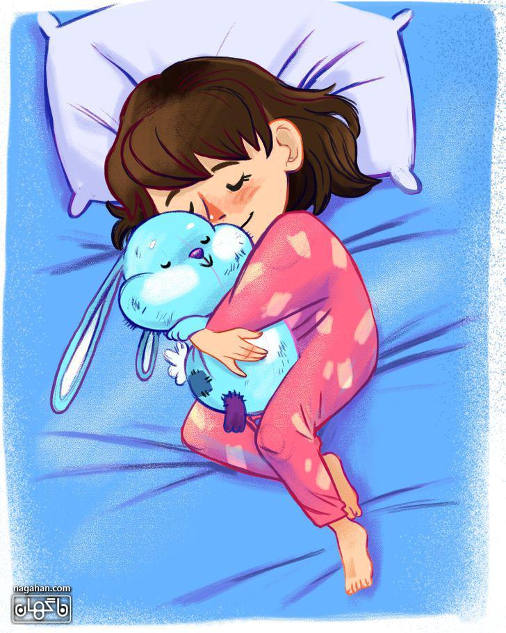 7-کودک خود را عادت دهید که تنها بخوابد.