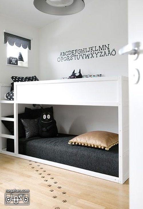 عکس اتاق کودک و مدل تخت پسرانه
