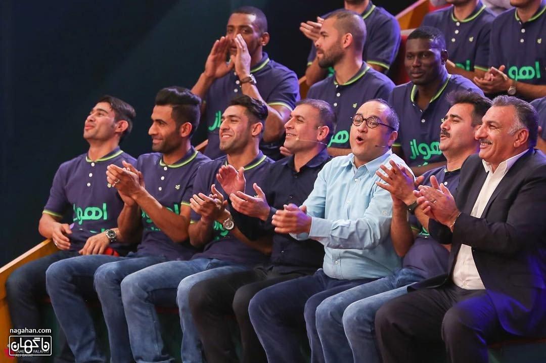 تیم استقلال خوزستان اهواز در خندوانه