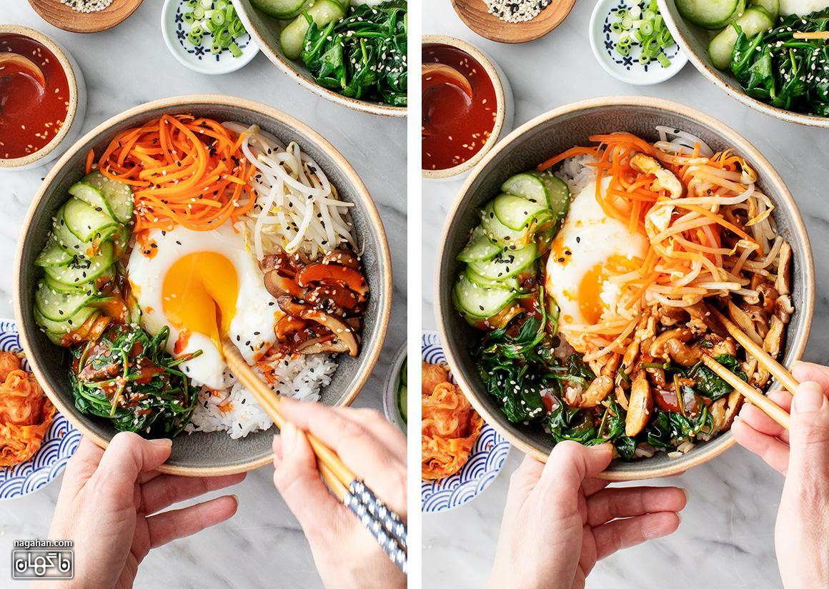 کاسه برنج کره ای