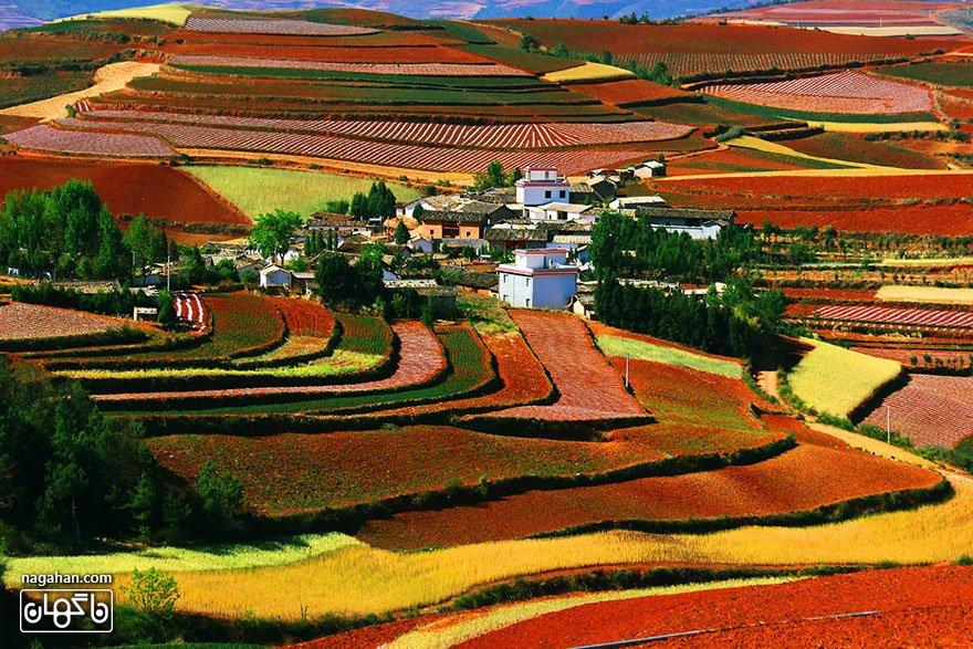 سرزمین سرخ، دونگ چوان، یون نان
