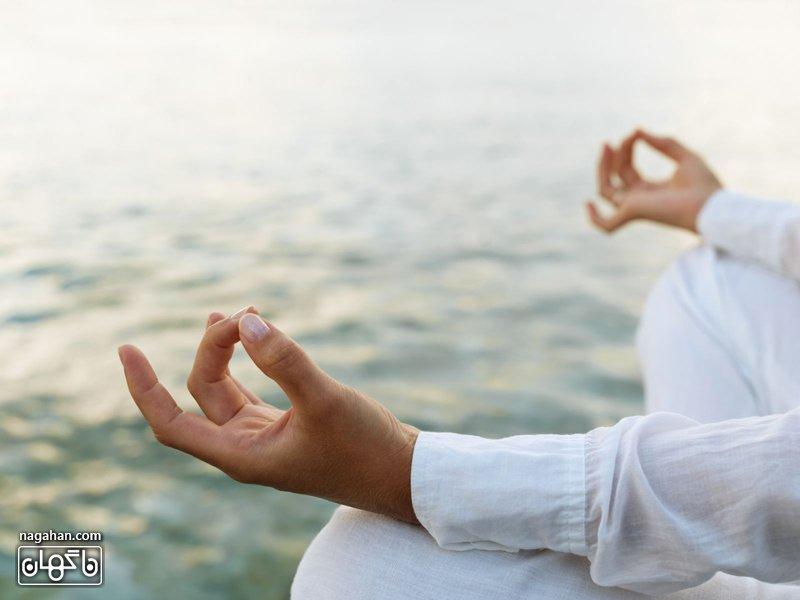 یوگا مقابله با استرس