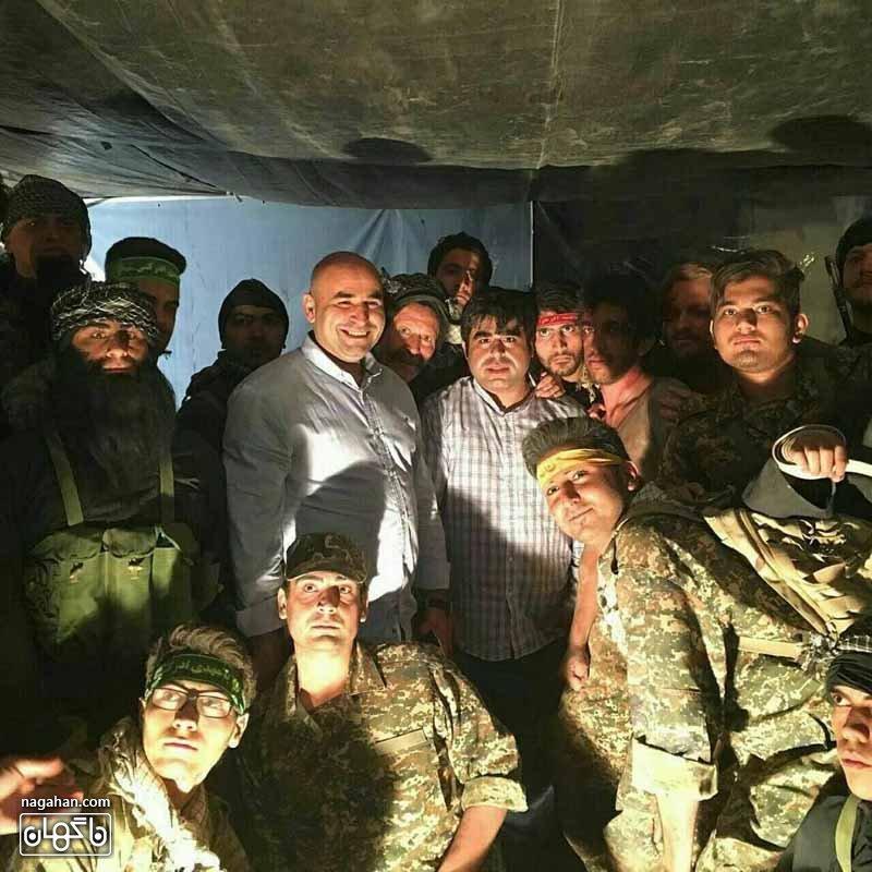 عکس امیر نوری داعش