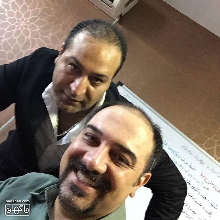 عکسبرزو ارجمند و علی پاشا در برنامه خندوانه