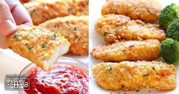 بهترین مرغ سوخاری تنوری آسان و سالم