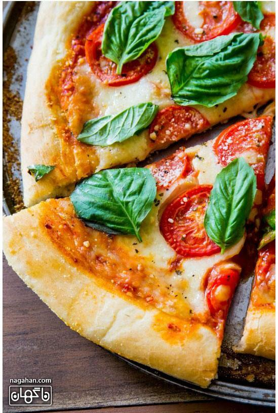 سایت ناگهان - پیتزا رژیمی سبزیجات مخصوص گیاهخواران و علاقه مندان به پیتزا ایتالیایی