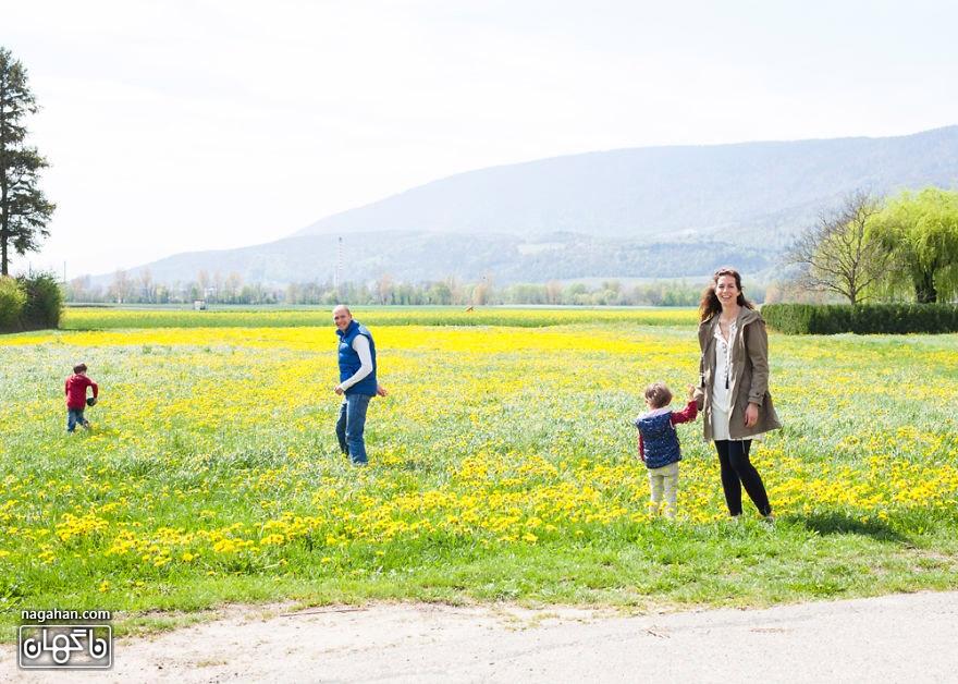 خانواده در سراسر جهان ؛ یک خانواده سوئیسی