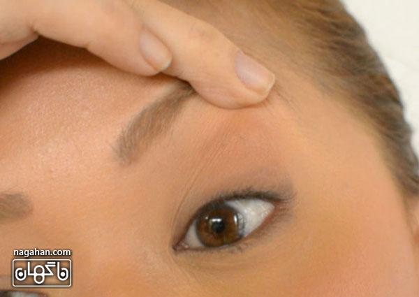 آموزش کشیدن خط چشم ساده